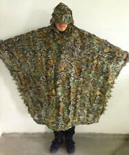 Outdoor 3D Camo Bionic Leaf Camouflage Jungle Hunting Ghillie Woodland Suit Set