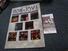 John Bon Jovi Richie Sambora autographed Program JSA Certified
