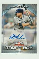 Austin Meadows. 2020 Topps National Baseball Card Day Autograph Tampa # 165/425