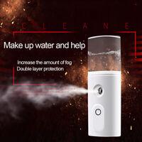 Portable Mini Home Car USB Mist Maker Diffuser Air Purifier Hydrating Humidifier