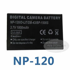 Li-ion Battery NP-120 3.7V 1700 mAh for Fuji FinePix F10 F11 Zoom