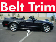 Ford MUSTANG CHROME BELT TRIM 2005 06 07 08 09