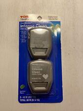 Twin Pack CVS Ease Between Intense Clean Dental Floss 43.7 Yd ea Icy Mint Flavor