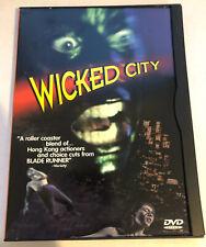 Wicked City DVD - Very Rare OOP Fox Lorber Image Ent. - Tsui Hark-Peter Mak VG