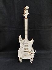 Laser Cut Wooden Electric Guitar 3D Model/Puzzle Kit