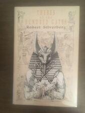 Thebes Of The Hundred Gates Robert Silverberg 1991 Axolotl Press HC signed