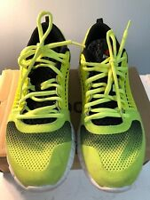 REEBOK ZQUICK ELECTRIFY Mens Running shoes Yellow - Size 8 Preowned