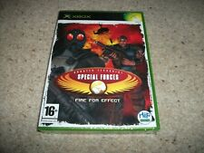 CT SPECIAL FORCES: FIRE FOR EFFECT (Microsoft Xbox, 2005) New & Sealed
