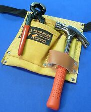 CORVUS Kinder Werkzeuggürtel aus LEDER mit HAMMER & ZANGE Heimwerker  87-31
