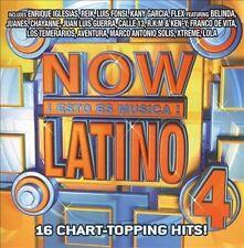 NEW Now Esto Es Musica Latino 4 (Audio CD)