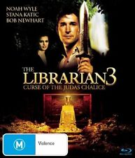The Librarian 03 - The Curse of the Judas Chalice (Blu-ray, 2009)-FREE POSTAGE