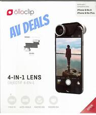 Olloclip 4 In 1 Lens Macro Fish Eye Wide Angle Iphone 6, 6s, 6 Plus, & 6s Plus