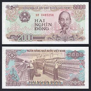 VietNam 2000 dong 1988 FDS/UNC  C-07