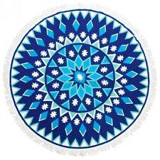 Large Bohemian Style Beach Tapestry Mandala Round Blanket Throw Towel Picnic