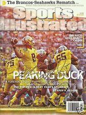 Marcus Mariota Signed Oregon Ducks Sports Illustrated Magazine - COA - Titans