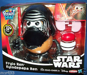 Playskool Star Wars Force Awakens Mr. Potato Head Figure FRYLO KYLO REN black