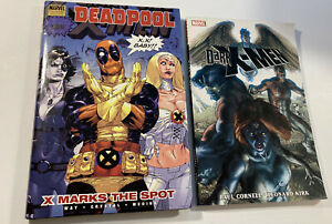 Lot Of 2 Graphic Novels Deadpool Volume 3: X Marks The Spot & Dark X-Men