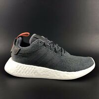 Adidas NMD R2 Mens Shoes Cool Grey White Size 8.5