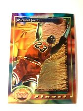 1993 topps finest michael jordan #1(none refractor)