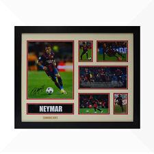 Neymar Signed & Framed Memorabilia - Ivory/Red - Limited Edition