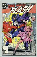 FLASH #2 ( NM )( 1987 ) DC COMIC BOOK ( 2ND APPEARANCE OF VANDAL SAVAGE ) CYBORG