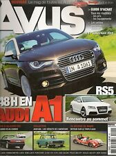 AVUS 4 AUDI RS5 Q7 V8 4.2 TDI 80 CABRIO 2.8 174CH A5 CABRIOLET 2.0 TFSI 60L 1972