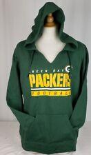 Brand New Majestic NFL Green Bay Packers FAN FASHION Hooded Sweatshirt