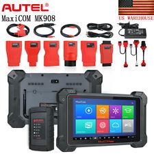 Autel MaxiCom MK908 OBD2 Auto Car Diagnostic Tool ECU Coding All System Scanner