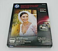 "HP CR669A Premium Plus Glossy Photo Inkjet Paper, 11.5 mil, 5x7"", 60 Sheets"