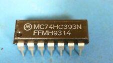 50-pcs of MC74HC393N RegisterCounter/Divider Dual 4-Bit Binary UP Automotive 14