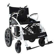 Heavy Duty Aluminum Foldable Wheelchair Electric Power Propeled Lightweight Best