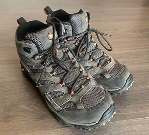 Merrell Men's Vibram Moab 2 Mid Waterproof Hiking Boot, Beluga Size 11