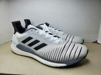 NWOB Adidas Boost Solar Glide Men's Running Shoes Size 12 Color Grey   #CQ3177