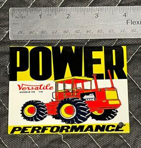 Versatile Power Performance Porcelain Like Magnet Gas Oil Farm Tractors