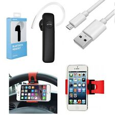 3in1 Auto Set Lenkrad Halterung Bluetooth Headset BT2 Für Galaxy Note 4 SM-N910F