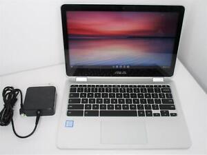 """Asus Chromebook C302C Flip 12.5"""" Touch M7-6Y75 1.2Ghz 16GB 64GB Wi-Fi -read"""