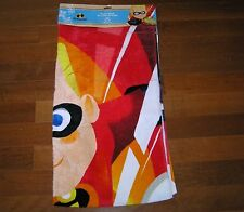 NWT NEW Disney Store The Incredibles Dash Summer Beach Pool Towel