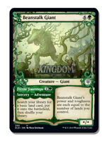 Beanstalk Giant - Showcase Frame - Throne of Eldraine - NM - English - MTG