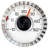 Historisches 1970 Bimetall Thermometer + Magnet & Klebepad RICHTER / HR Art 2806