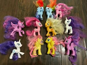 My Little Pony 2016 set lot 11 Hasbro MLP Rarity Twilight Sparkle Applejack Dash