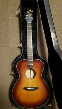 Breedlove Oregon Concert E Whiskey Burst Solid Spruce & Myrtlewood A/E Guitar