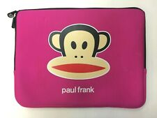 "PINK Paul Frank ""Julius"" Laptop Sleeve 15""X 11"" MacBook Pro"