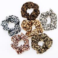 Women Cute Scrunchies Pack Hair Ties Ponytail Bun Holder Stretch Rubber Band