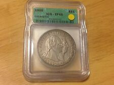 1900 ICG EF 45 Lafayette Silver Dollar, NO RESERVE FREE SHIPPING