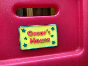Children's Playhouse Sign - Little Tikes - Door Plaque - Door Sign - Playhouse