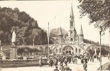 Lourdes, FRANCE - Basilica & Crown Virgin - 1968 -  Roman Catholic, Pilgrimage