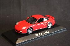 Minichamps (DV) Porsche 911 Turbo 1:43 Red (HB)