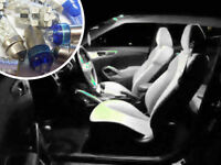 White LED Interior Bulbs Kit Spare Electric Part Replacement For BMW Mini R56