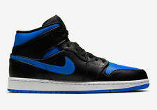 Nike Air Jordan 1 Mid Hyper-Royal Mens US 15 UK 14 554724 068 Basketball Shoes