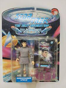 Playmates Toys Star Trek The Next Generation Ambassador Spock action Figure MOC